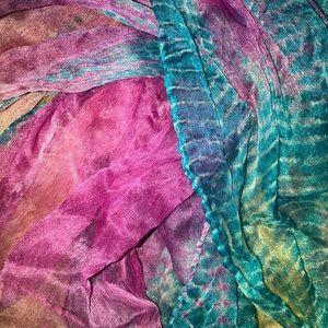 Justice Accessories - Rainbow Justice Tye Dye Scarf